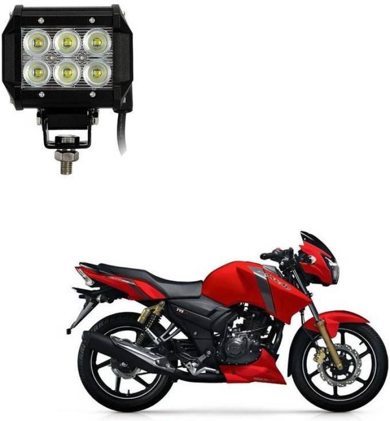 AutoKraftZ HID Fog Light For TVS Apache RTR 160 Price in