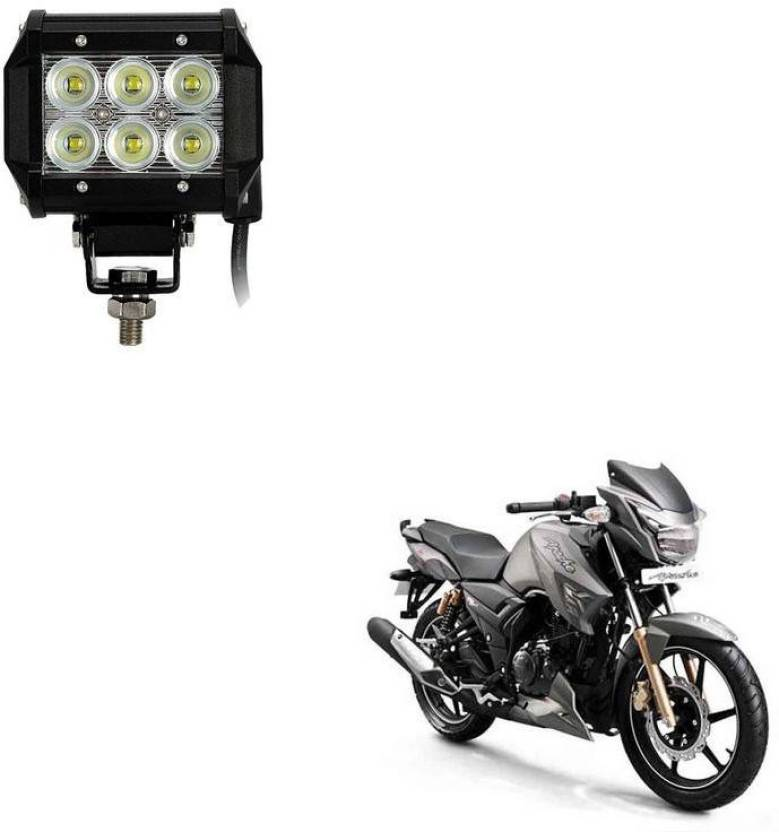 AutoKraftZ HID Fog Light For TVS Apache RTR 180 Price in
