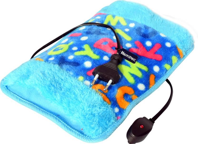 Hemdec HMD-121 Fur Hot Water Bag Electric Heating Pad