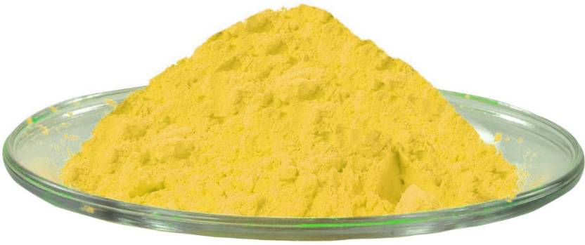 Aarav Creations Pure Yellow Gulal for Safe Gift As Holi Color Powder Pack of 100 g Holi Color Powder Pack of 1  (Yellow, 100 g)-62% OFF