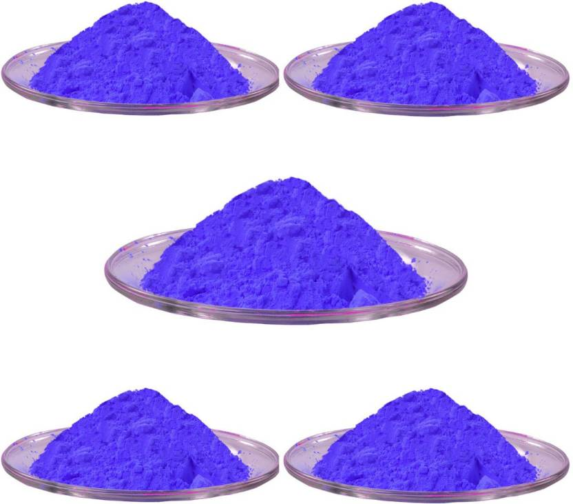 Aarav Creations Pure Blue Gulal for Safe Gift As Holi Color Powder Pack of 500 g Holi Color Powder Pack of 1  (Blue, 500 g)-50% OFF