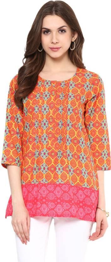 e0900700612 Akkriti by Pantaloons Women s Solid A-line Kurta - Buy Akkriti by ...