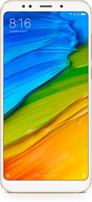 Redmi Note 5 (Gold, 64 GB)  (4 GB RAM) OnlyOnFlipkart