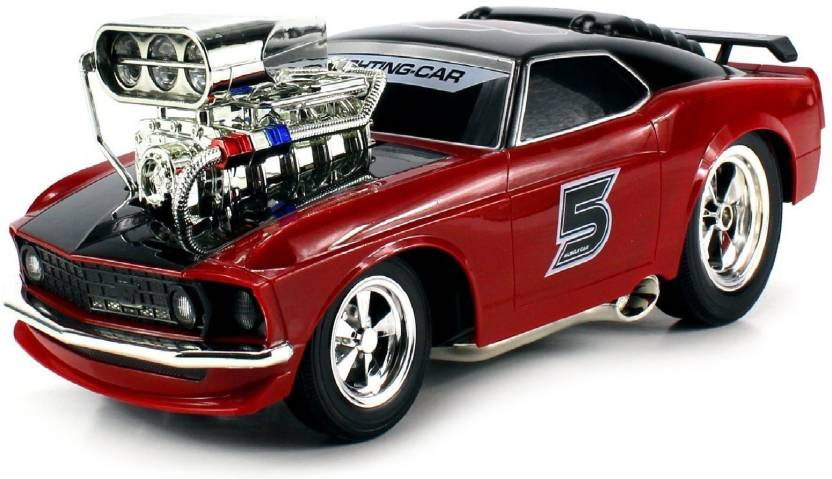 Pacific Toys Super 5 Ford Mustang Boss 429 Remote Control Rc Muscle
