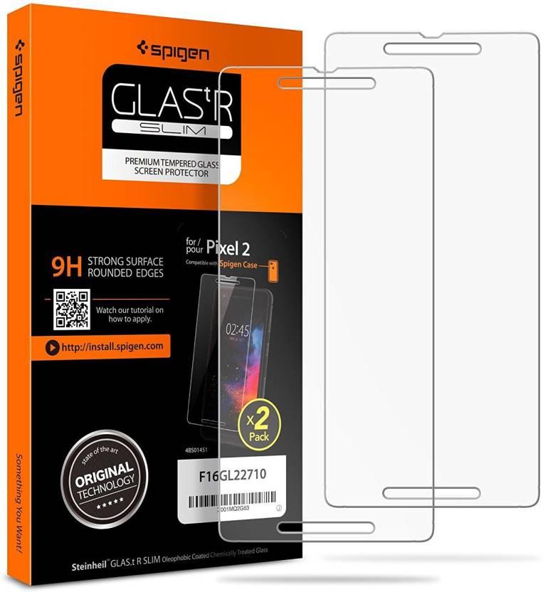 uk availability 489ad af61e Spigen Tempered Glass Guard for Google Pixel 2