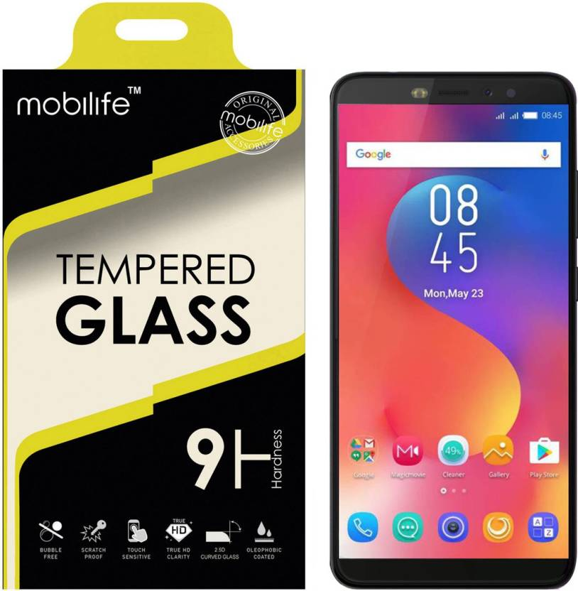 Mobilife Tempered Glass Guard for Infinix Hot S3