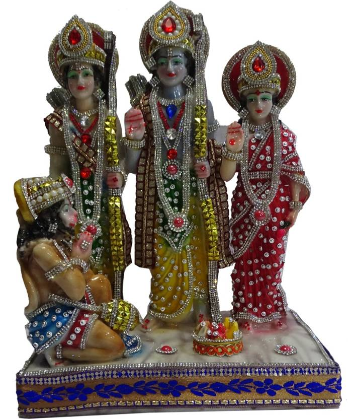 Boon BOON Jarken Ram Darbar Decorative Showpiece - 35 cm Price in ...