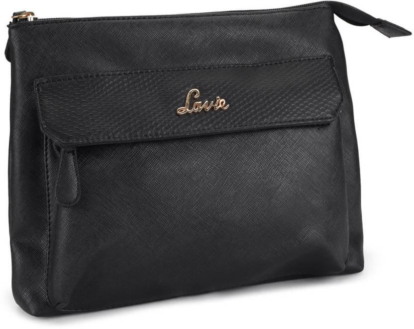 Lavie - Anushka collection Women Casual Black PU Sling Bag BLACK - Price in  India  cd32cae590001