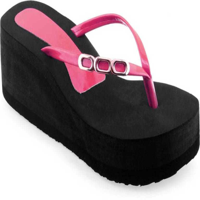 6ad903f8540 Shoe lab Women Pink Sandals - Buy Shoe lab Women Pink Sandals Online at  Best Price - Shop Online for Footwears in India