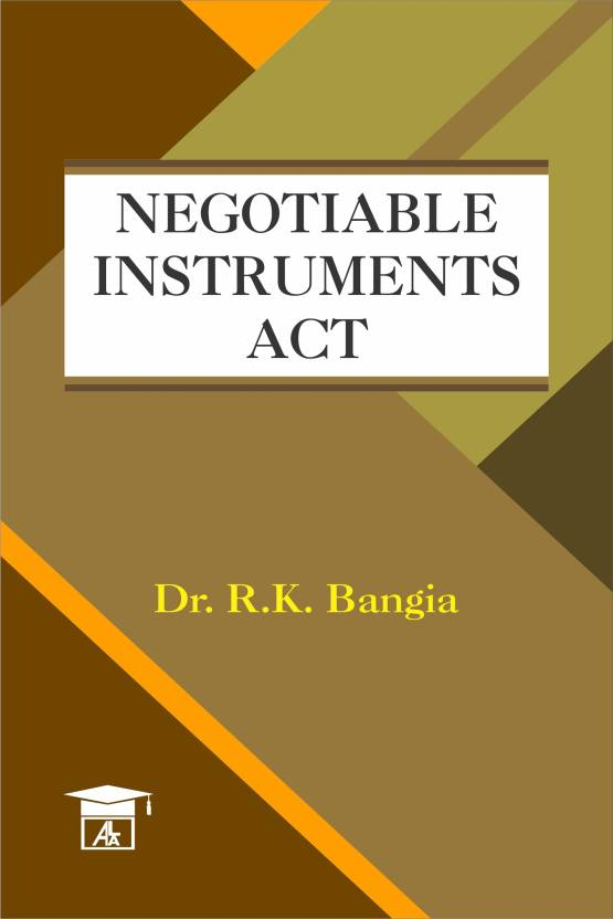 what is negotiable instrument