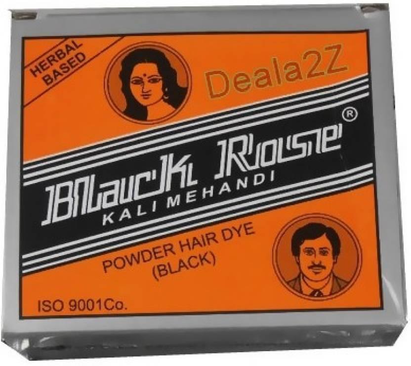 a61139a93 Black Rose Kali Mehndi Hair Color - Price in India, Buy Black Rose ...