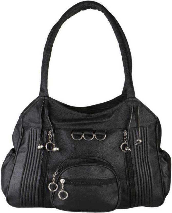 cba85bab6b Buy REYAZ   JAIBUN Shoulder Bag BLACK Online   Best Price in India ...
