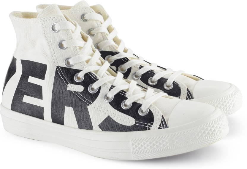 6925c531b489 Converse Wordmark Hi Sneakers For Men - Buy NATURAL BLACK EGRET ...