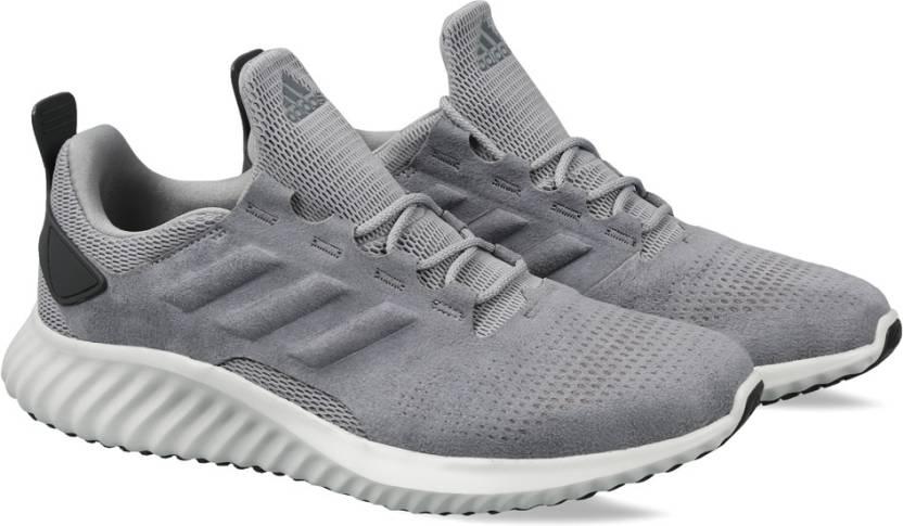 adidas alphabounce cr m per gli uomini comprano scarpe da corsa grethr / grethr