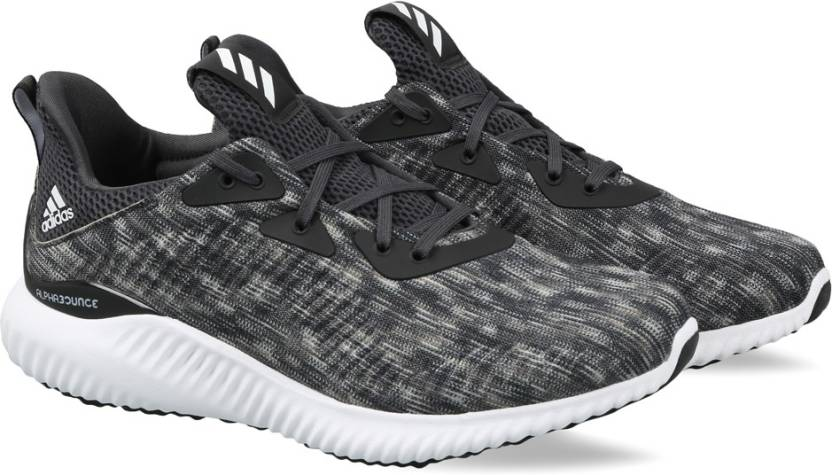 85bd8186f9bf8 ADIDAS ALPHABOUNCE SD M Running Shoes For Men - Buy CBLACK FTWWHT ...