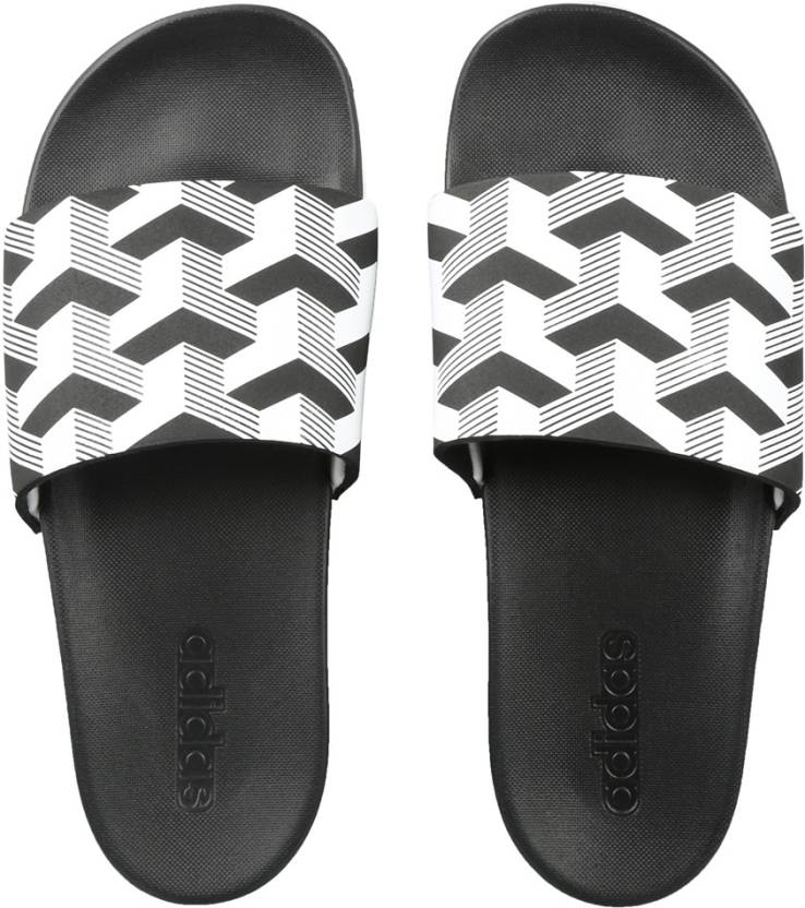 adb281750be5 ADIDAS ADILETTE CF+ LINK GR Slides - Buy CBLACK FTWWHT CBLACK Color ADIDAS  ADILETTE CF+ LINK GR Slides Online at Best Price - Shop Online for  Footwears in ...