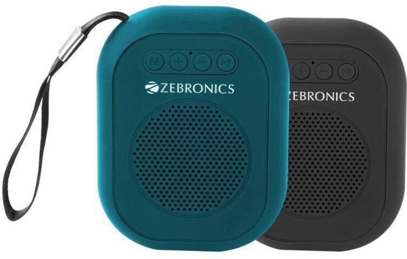 Image result for Zebronics Zeb-SAGA Portable Bluetooth Speakers