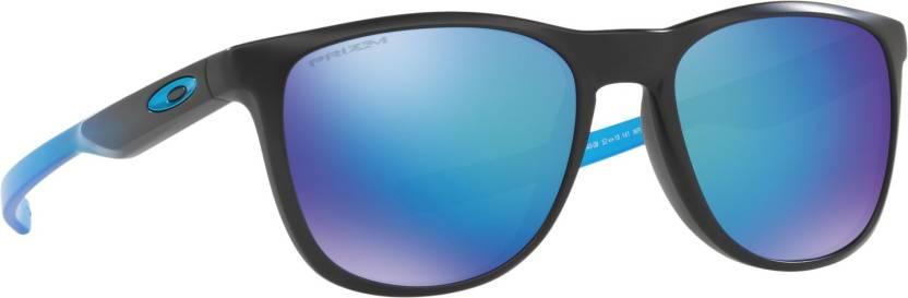 d9a8d12679 Buy Oakley TRILLBE X Rectangular Sunglass Blue For Men Online   Best ...