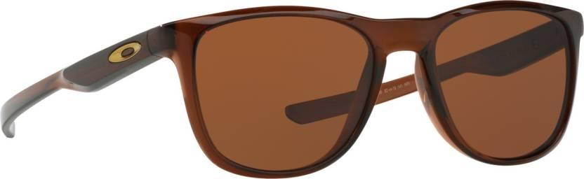 c07695b76a Buy Oakley TRILLBE X Rectangular Sunglass Brown For Men Online ...