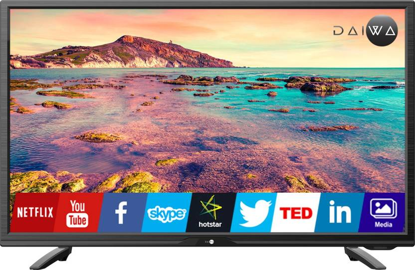 ca9e2104494 Daiwa 80cm (32 inch) HD Ready LED Smart TV Online at best Prices In ...