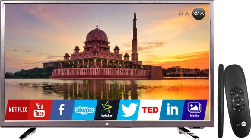 31cf9ebb3 Daiwa 80cm (32 inch) HD Ready LED Smart TV Online at best Prices In ...