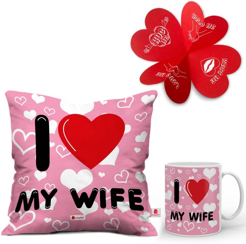 Indigifts Valentines Gift For Wifey Love Wife Birthday
