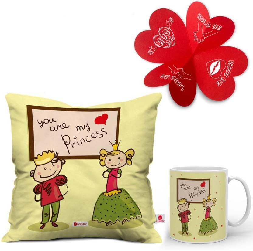 Indigifts Valentines Gift For Love Girls Girlfriend Wifey Wife