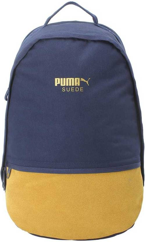 low priced 217d3 73341 Puma Suede Backpack 22 L Backpack Peacoat - Price in India ...