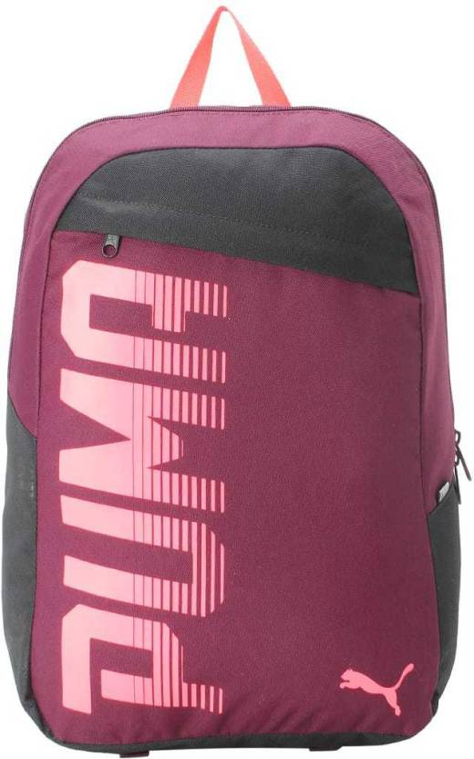 f0834cbf52f Puma Pioneer Backpack I IND 24 L Backpack Pickled Beet - Price in ...