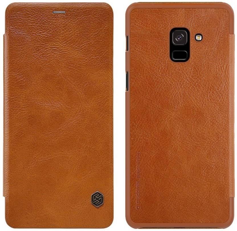 finest selection e0665 841c8 FAIRBUNNY Flip Cover for Samsung Galaxy A8 Plus