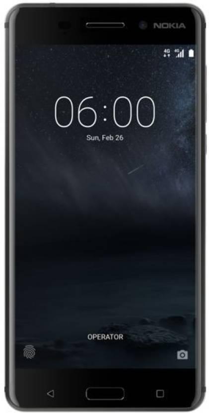 Nokia 6 (Matte Black, 64 GB)