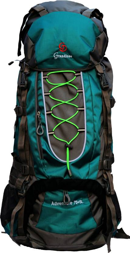 5c0ba09dc5c1 GRANDIOSE 75L Thread Model Teal Blue Travelling Hiking Trekking Camping  Rucksack Bags (GTB67503TB) Rucksack - 75 L (Blue)