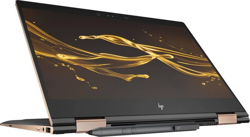 HP Spectre x360 Core i5 8th Gen - (8 GB/360 GB SSD/Windows 10 Pro) 13-ae502TU 2 in 1 Laptop(13.3 inch, Dark Ash SIlver, 1.26 kg)