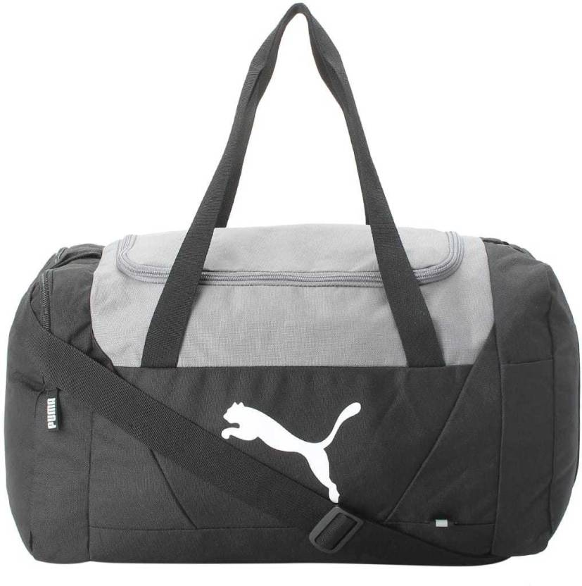 0c296422f4 Puma Fundamentals Sports Bag S Travel Duffel Bag Black - Price in ...
