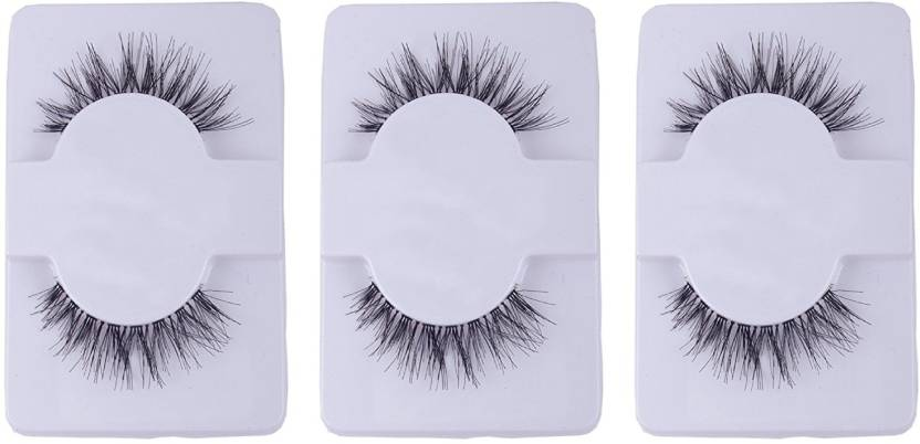 Fully Eye Lashes For Girls Pack Of 3 Pair Fake Eyelashes Price In