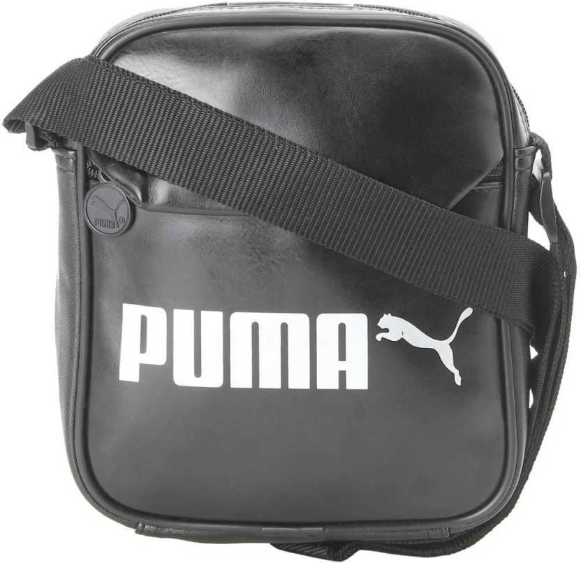 5c3d3ad40e6d Buy Puma Sling Bag Black Online   Best Price in India