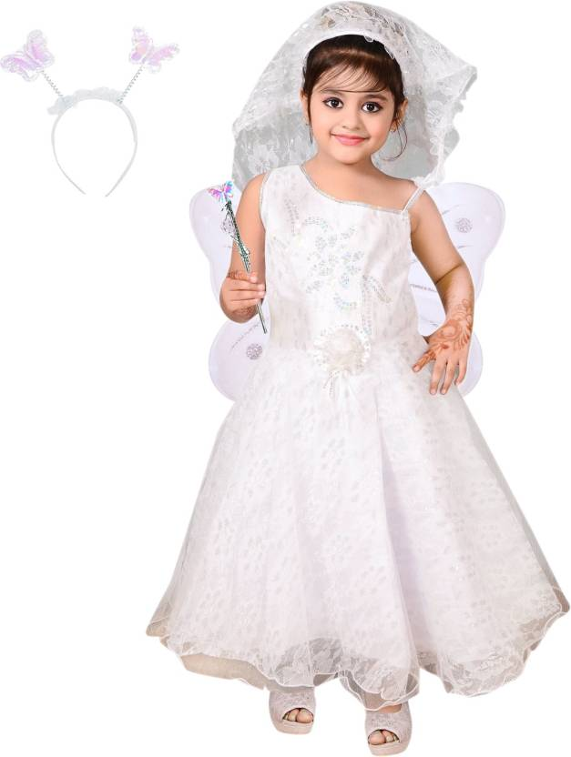 312a61d8ac7e7 Ahhaaaa Girls Maxi/Full Length Party Dress Price in India - Buy ...