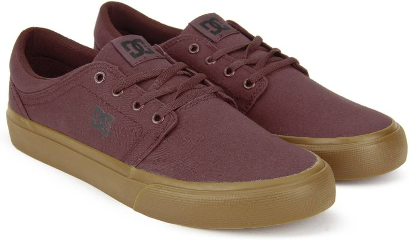 Buy TRASE Color Men TRASE TX TX BURGUNDYTAN Sneakers For DC DC ARzXawTnqx