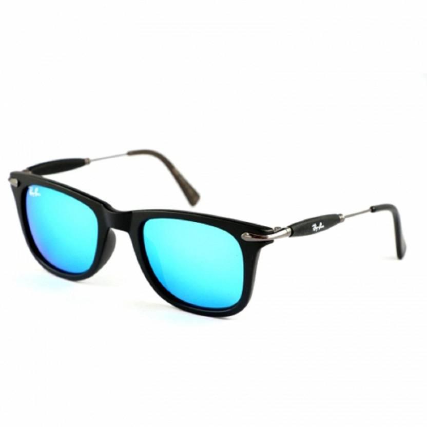 81616a1009 Buy RB Wayfarer Sunglasses Blue For Men   Women Online   Best Prices ...