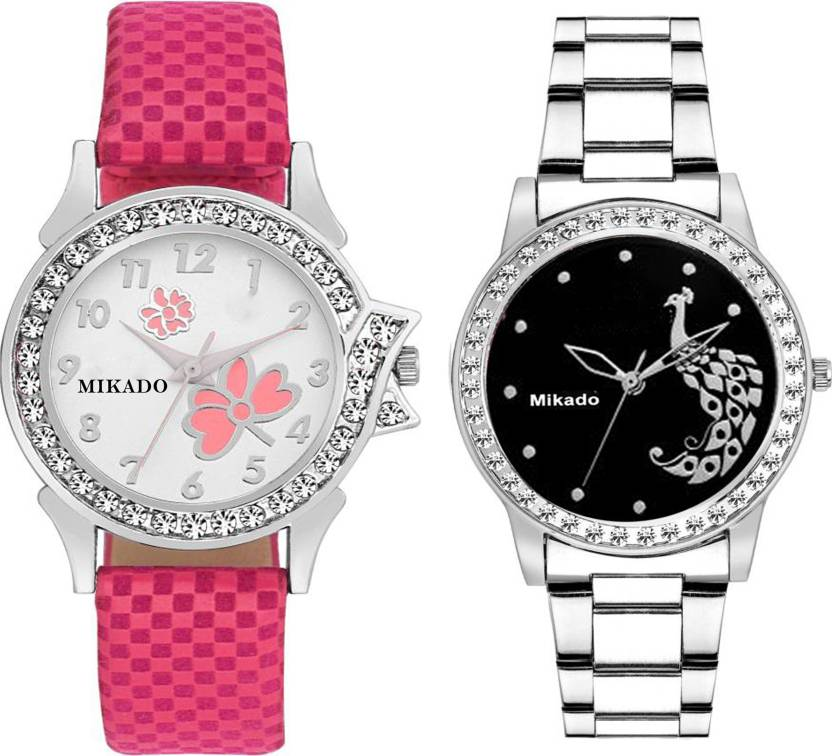 Mikado Exclusive High quality premium watches combo for Girls and Women  Watch - For Women - Buy Mikado Exclusive High quality premium watches combo  for ... 83fb278dc5