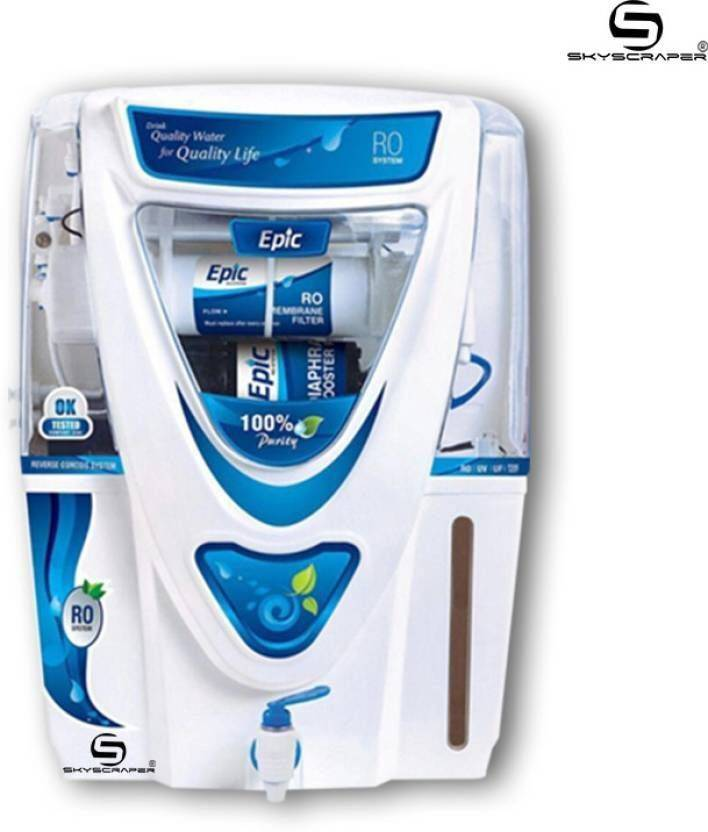 Aquagrand Plus Epic 12 L RO + UV + UF + TDS Water Purifier (Blue   White) 6577124f851be