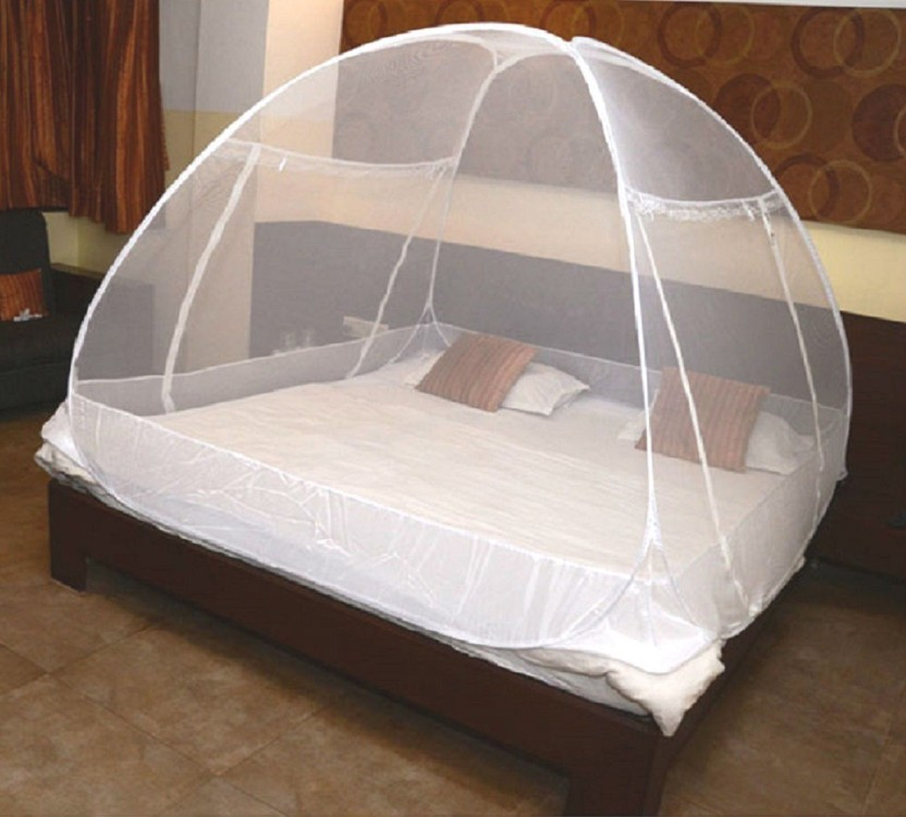 Classic Polyester Adults Net Double Bed Premium Mosquito Net