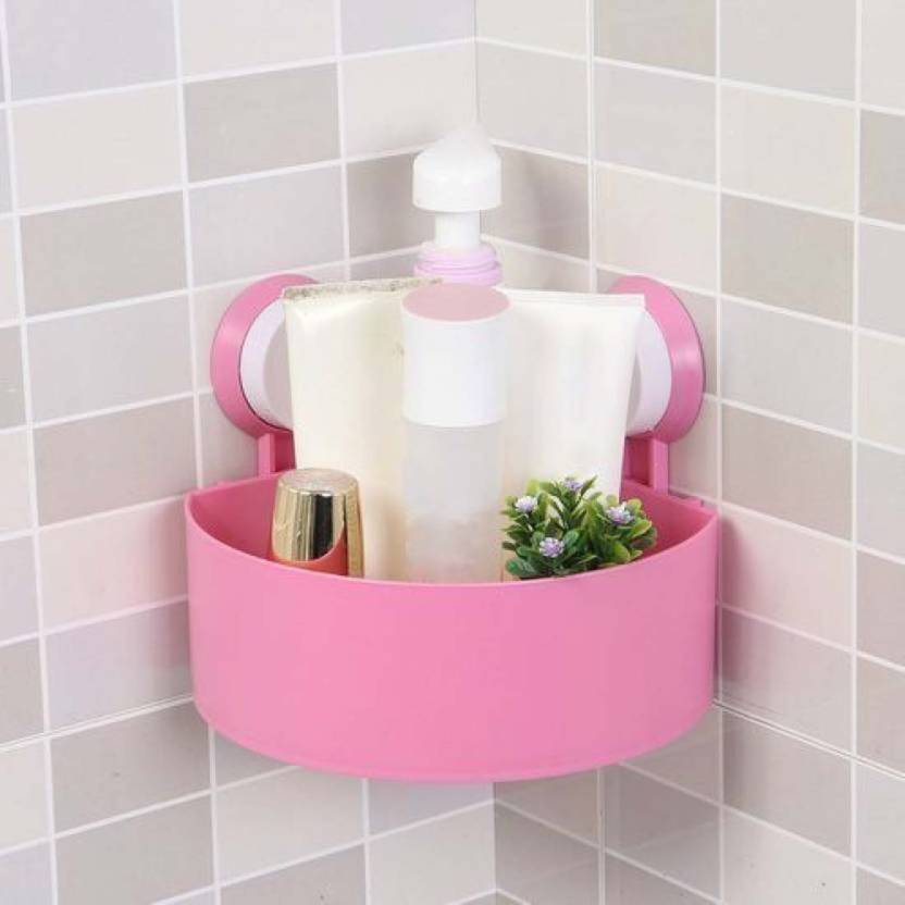 Strange Adfresh Bathroom Kitchen Storage Organize Shelf Rack Triangle Shower Corner Caddy Basket With Wall Mounted Suction Cup Multicolor Complete Home Design Collection Barbaintelli Responsecom