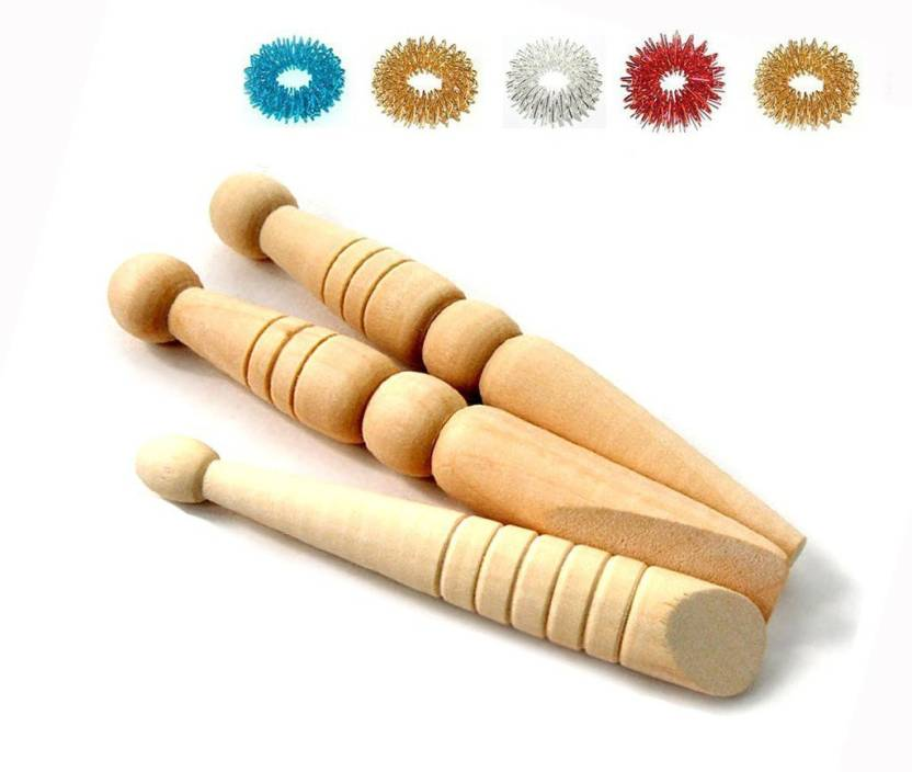 AHCS Acupressure Therapy Hand Wellbeing Wooden Full Body