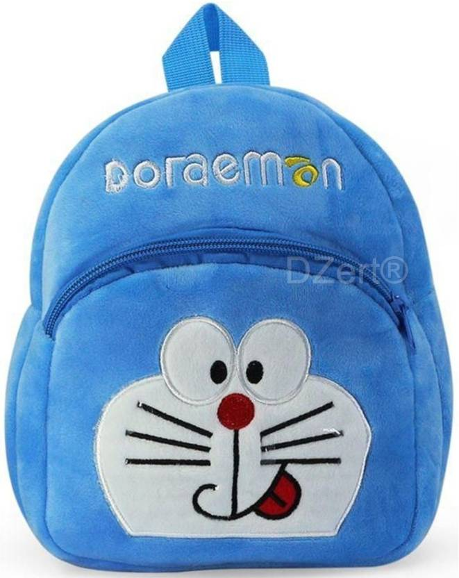 DZert School Bag For Kids Soft Plush Backpack F0r Small Kids Nursery Bag  (Age 2 to 6 Years) School Bag (Blue 3a415a5f0e44f