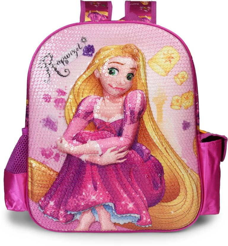 3a0f2c742fd Disney Rapunzel EVA 14 inch School Bag (Purple