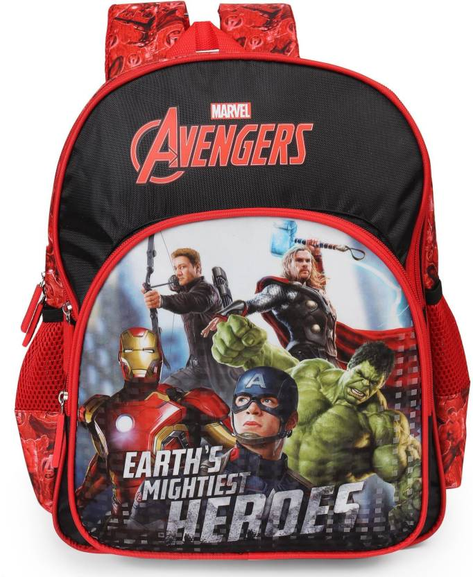Marvel Avengers Earth's Mightiest Heroes 18 inch School Bag