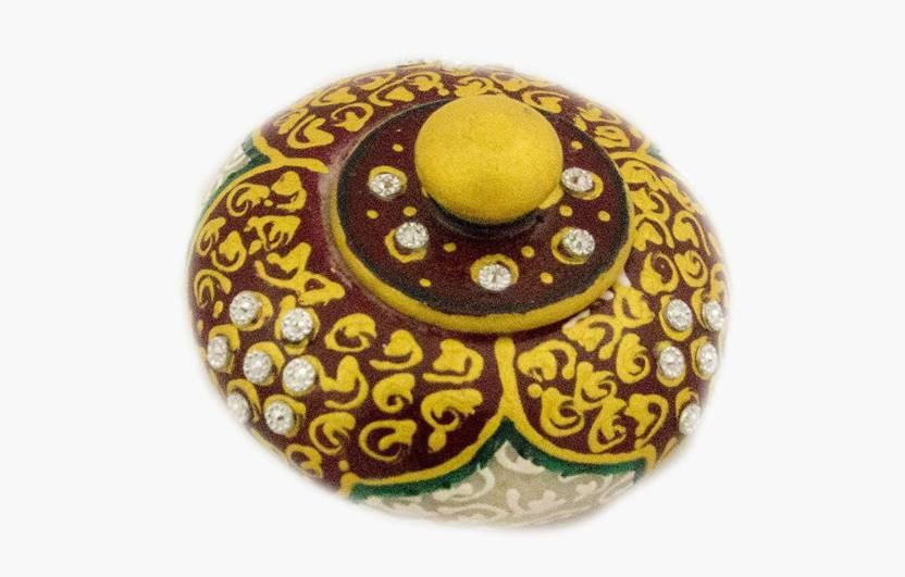 Ages Art Ages Art marble golden purple meenakari design