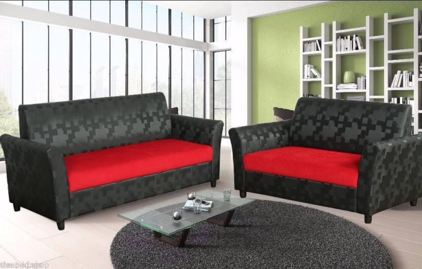 f2a8de02b42 Cloud9 Manchester Fabric 3 + 2 Multicolor Sofa Set Price in India ...