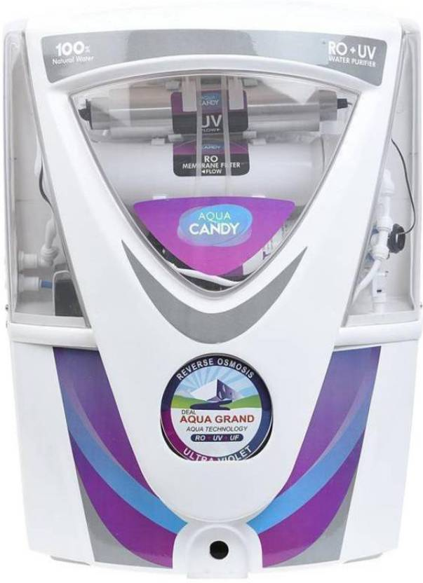 Aquagrand CANDY 17 L RO + UV + UF + TDS Water Purifier  (White) at Flipkart ₹4,799